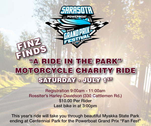 A Ride Through the Park Motorcycle Charity Ride