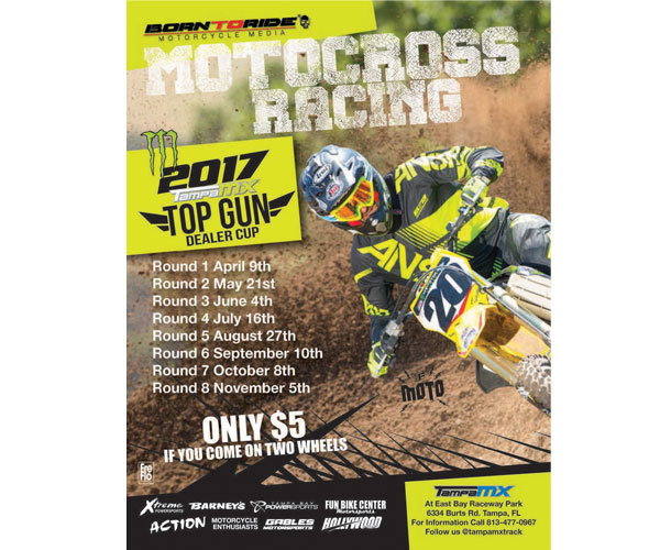 2107 Tampa MX Top Gun Dealer Cup Motocross Racing