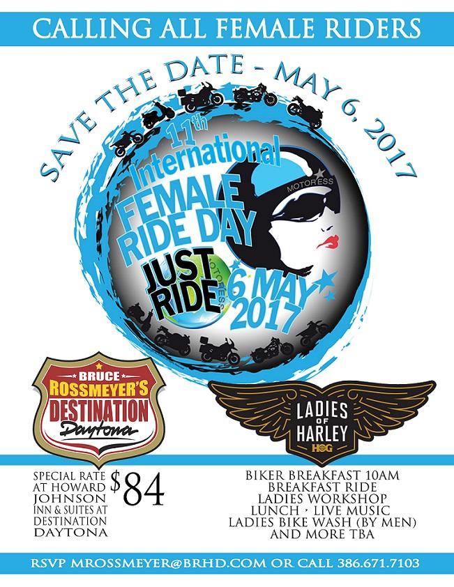 International Female Ride Day at Destination Daytona