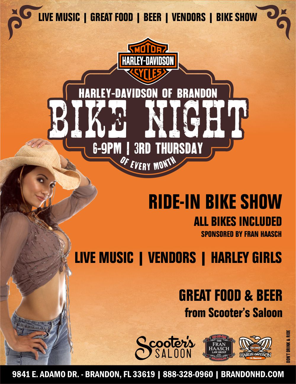 Bike Night at Brandon Harley Davidson