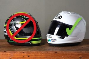 How to Give your Motorcycle Helmet a Safety Inspection