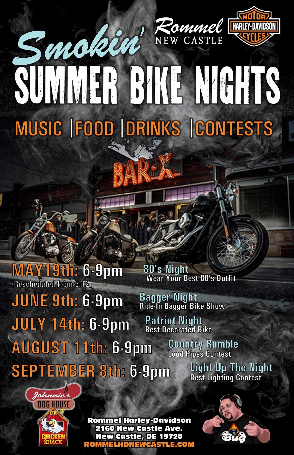 Smokin' Summer Bike Nights
