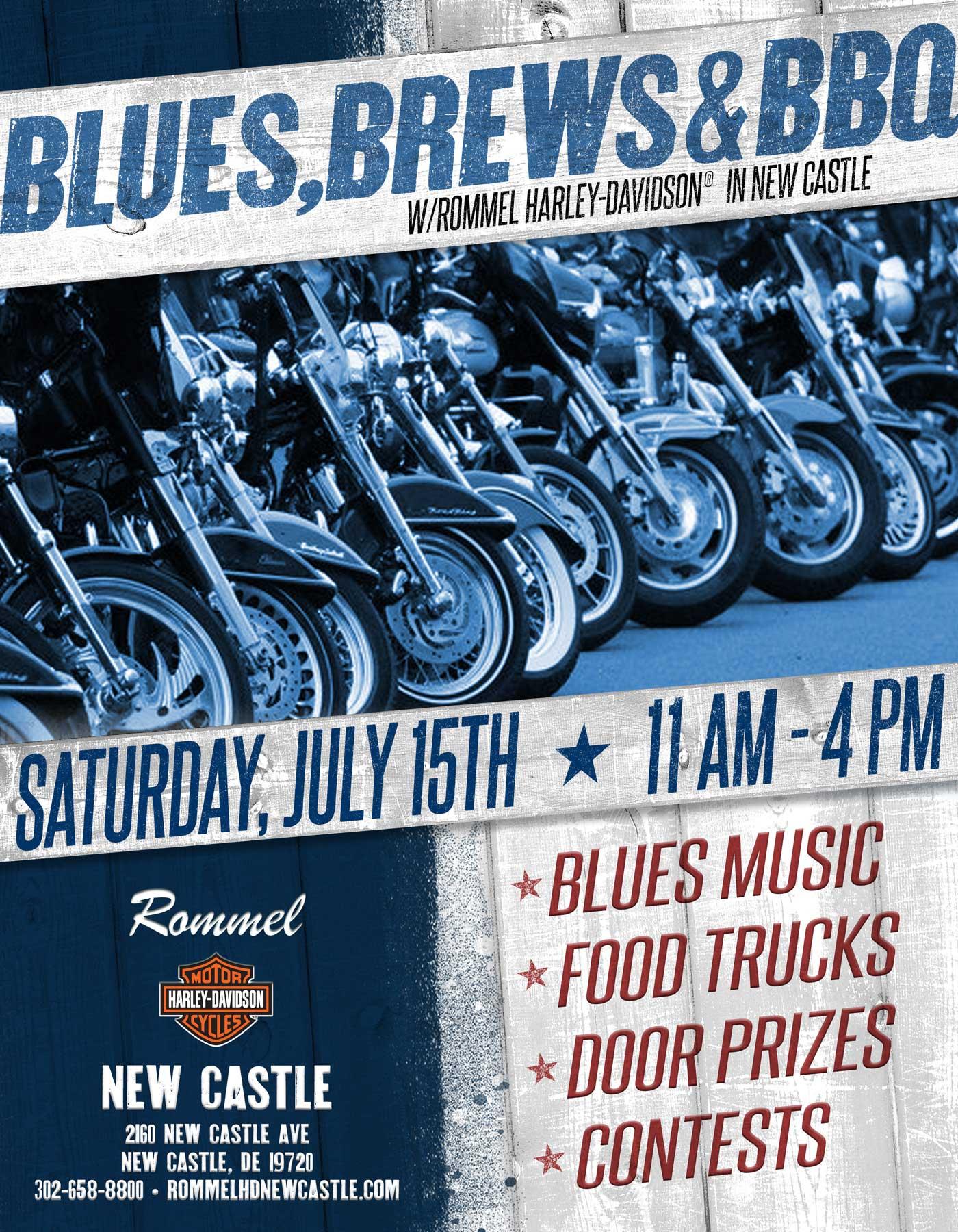 Blues, Brews & BBQ @ New Castle