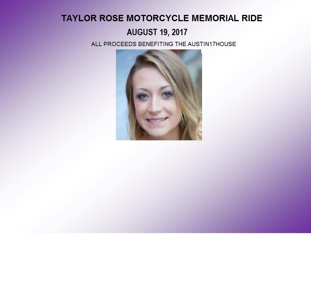 Taylor Rose Memorial Ride