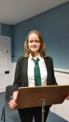 Alisa Matyunina  Donald Dewar Memorial Debate
