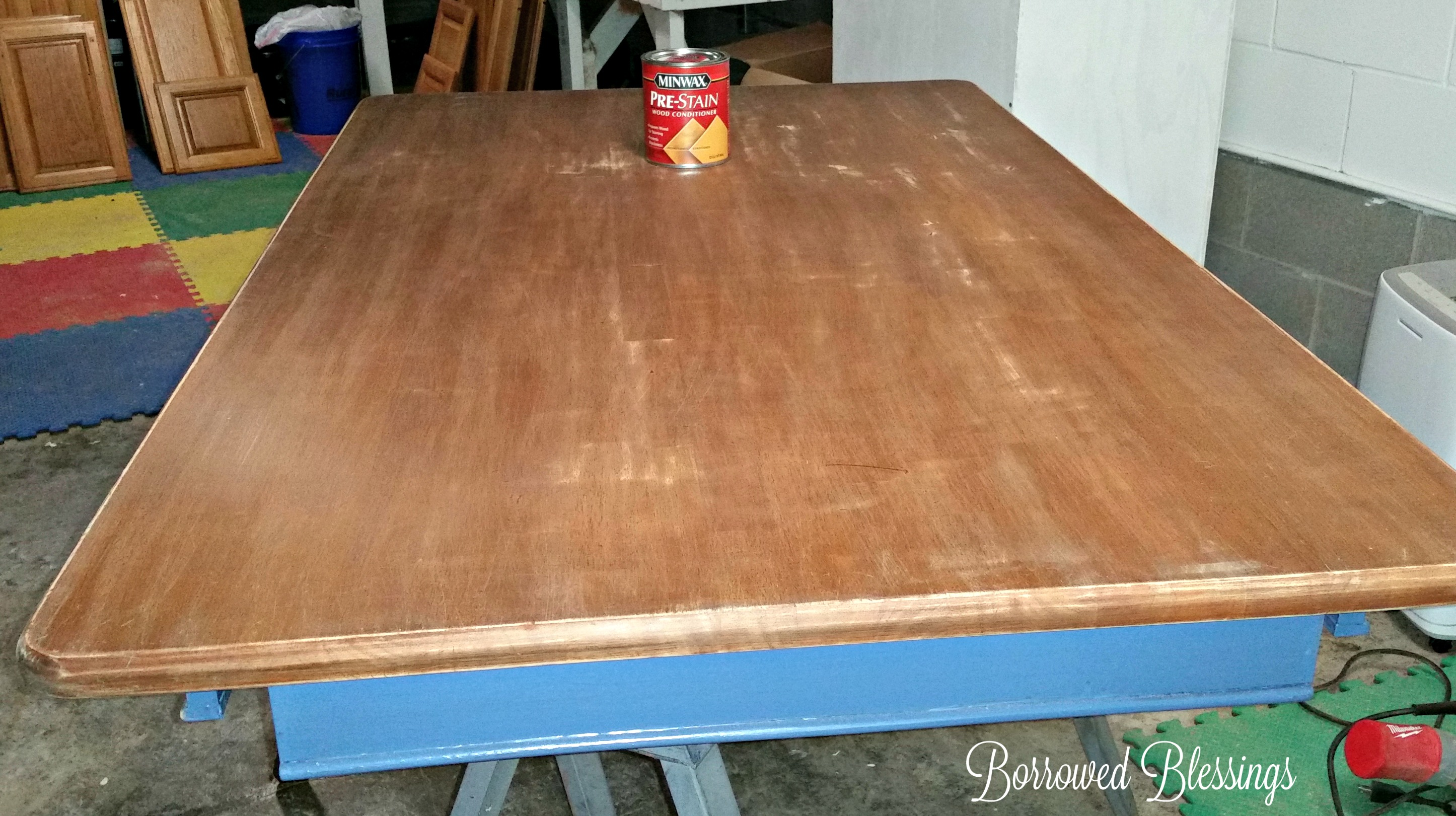 Refinishing A Dining Room Table With Polyshades