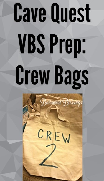 Cave Crew Bags - BorrowedBlessings.net