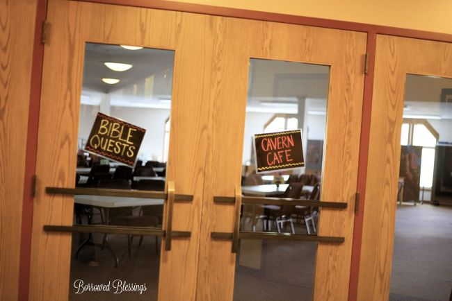 Cave Quest VBS: Decorating Spaces - Cavern Cafe (Snack)