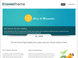 Dzonia Lite WordPress Theme