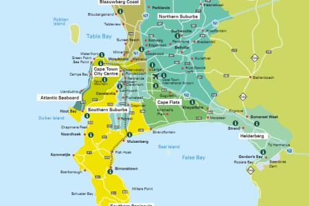 map cape town suburbs