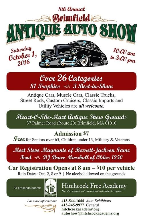 Brimfield Antique Auto Show