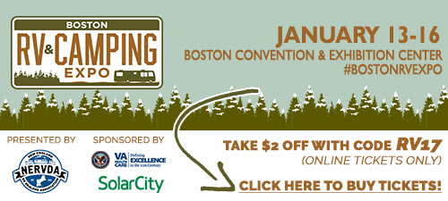 Boston RV Camping Expo Coupon