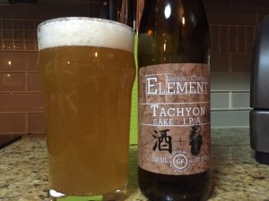 Element Brewing Company Tachyon IPA