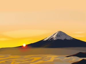 mtfuji,富士山,日の出