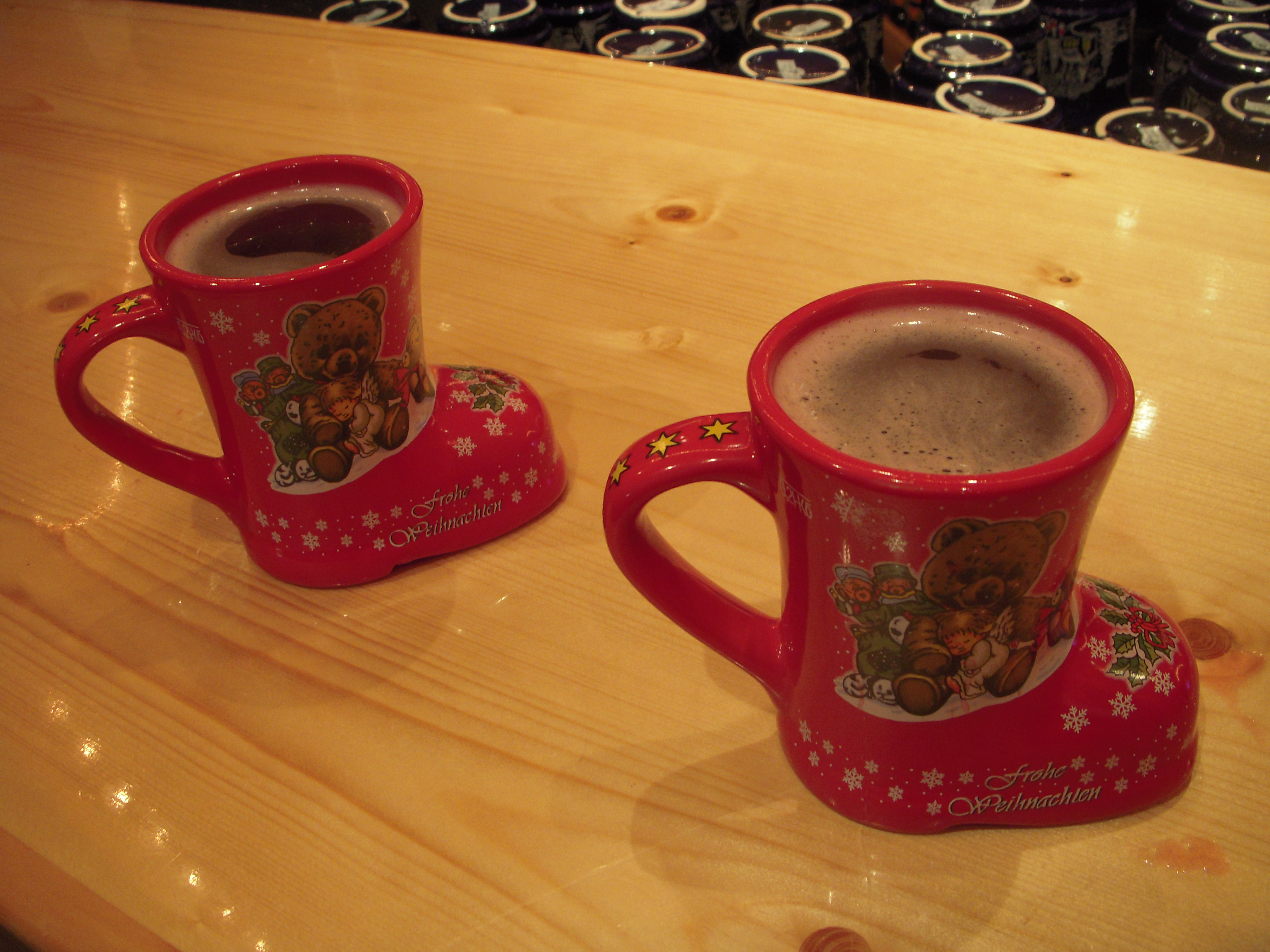 The End of the Food Coma: Washing it down with a Schnap(p)s and Glühwein Recipe