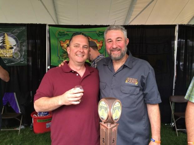 Jeff with Sierra Nevada owner, Ken Grossman