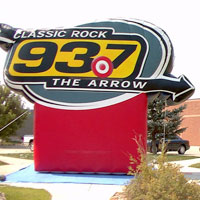Radio Inflatable Billboard