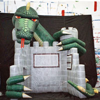 Dragon Inflatable Trade Show Booth (Used one in Stock!)