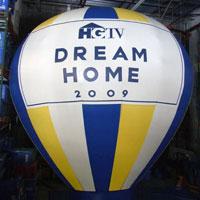 HGTV Inflatable Hot Air Balloon Shape