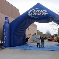 Bud Light Tunnel