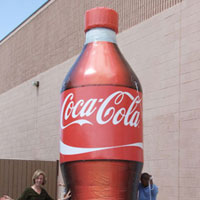 Coke Bottle Inflatable