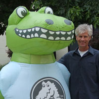 Crocs Inflatable Costume