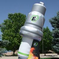 Spark plug Inflatable