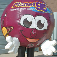 Planet Inflatable Radio Costume