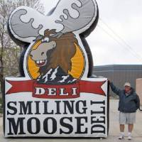 Smiling Moose Inflatable