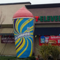 7-Eleven Slurpee on location