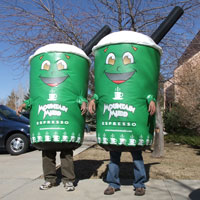 Mountain Mudd Inflatable Inflatable Costumes