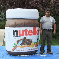 Nutella Jar Inflatable