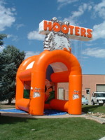Inflatable Sports Cage – Hooters