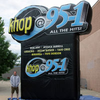 KHOP Inflatable Radio Logo
