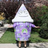 Yogurt Mountain Inflatable Costume
