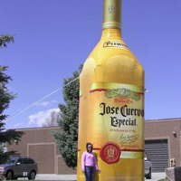 Inflatable Jose Cuervo Bottle