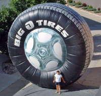 Big O Inflatable Tire