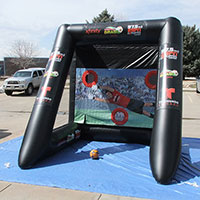 Clear Channel ESPN Inflatable Soccer Goal Kick