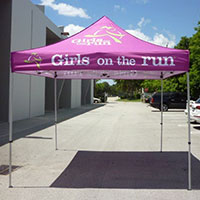 Girls on the Run Pop Up Tent