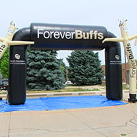 Forever Buffs Dancing Man and Circular Arch