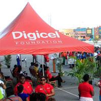 Digicel Foundation Pop Up Tent