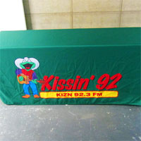 Kissin' 92 Radio Table Cover