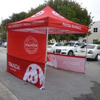 Panda Express Pop Up Tent