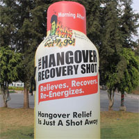 Hangover Recovery Shot Inflatable