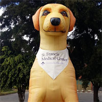 Penrose Hospital 15ft Inflatable Dog