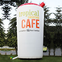 25ft tall Tropical Smoothie Cup