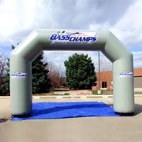Bass Champs Inflatable Arch