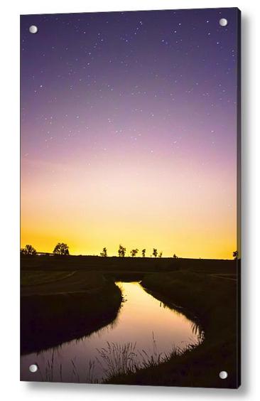 As Nighttime Falls Acrylic Print