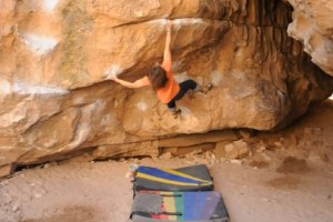 Bishop Bouldering: Happy Boulders