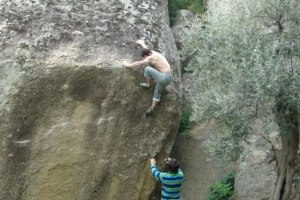 Bouldering with Heracles